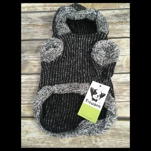 Fleece pet sweater